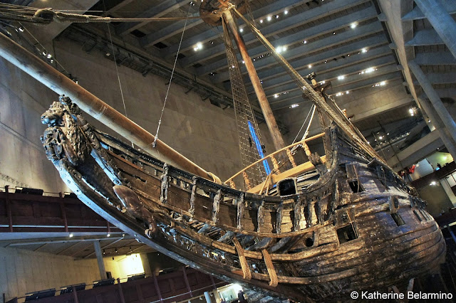 Vasa Warship Bow Things to Do in Stockholm Sweden
