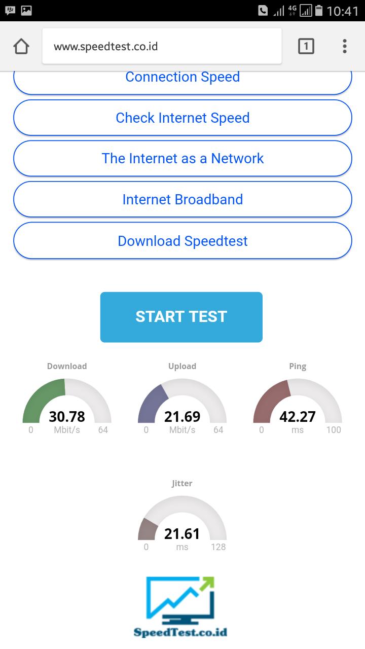 Cara Cek Kecepatan Internet Melalui Smartphone