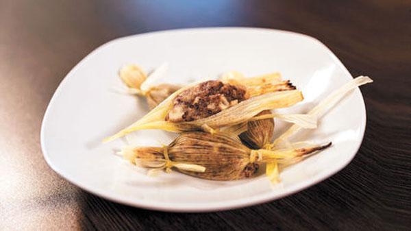 Tamales de pisancalla (quinua roja)