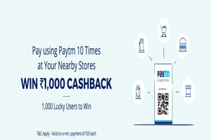 paytm rs 1000 cashback offer