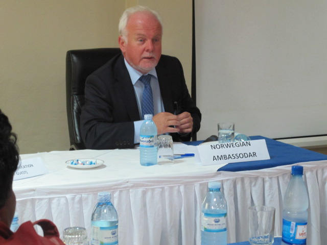 FRIENDSHIP Telemark Uganda: August 2012