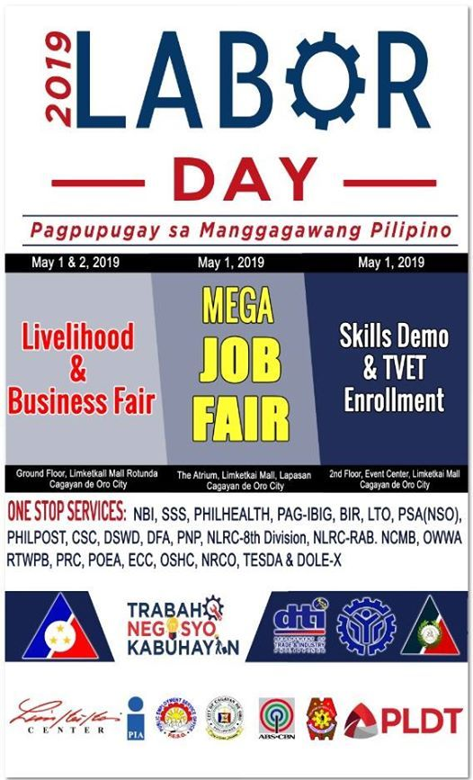 MEGA JOB FAIR ON LABOR DAY CELEBRATION