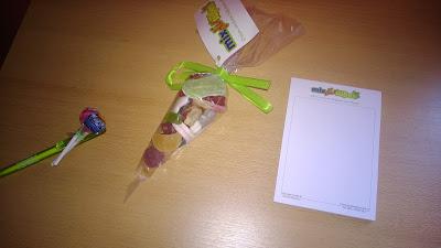 Produktset mit Gummitieren