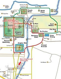 Circuitos de Angkor Wat.