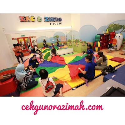 zac&zibbo kids gym, the parenthood, the parenthood sunway pyramid, GEM studio, kids gym