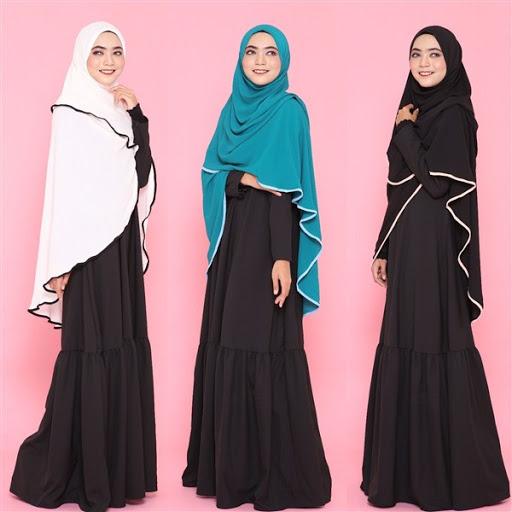desain dan model hijab syar i modern terbaru 2017/2018