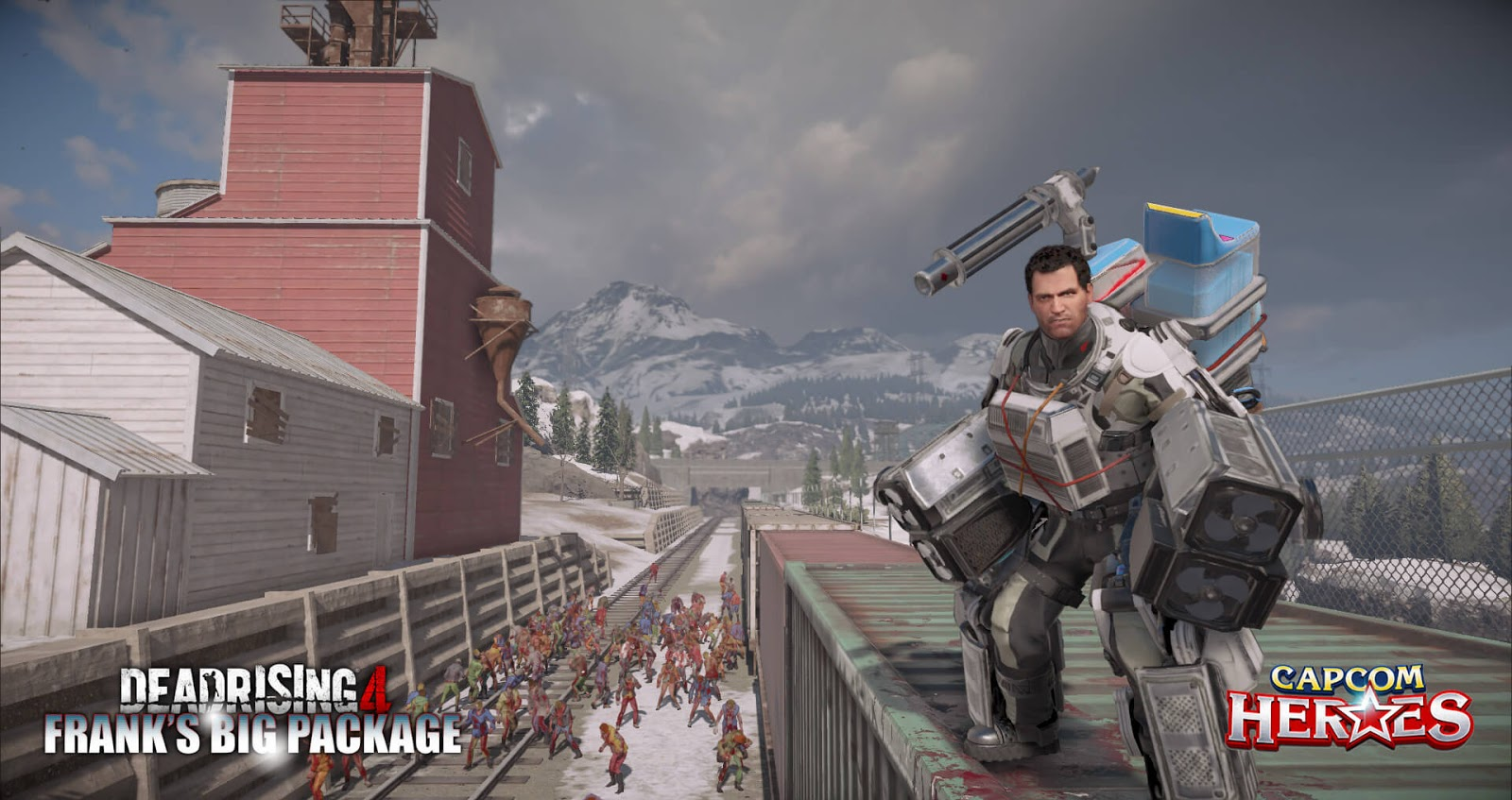 Dead Rising 4 Franks Big Package Comes To Playstation Gameslaught Frank West In Exo Suit