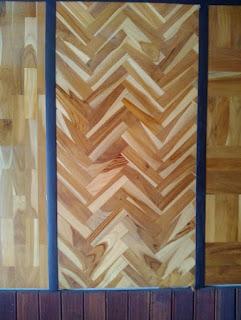 model Pemasangan Lantai Kayu parquet mozaik