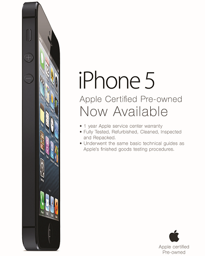 Apple iPhone 5 Certified Pre-owned