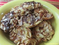 Honey Almond Crunch Cookies