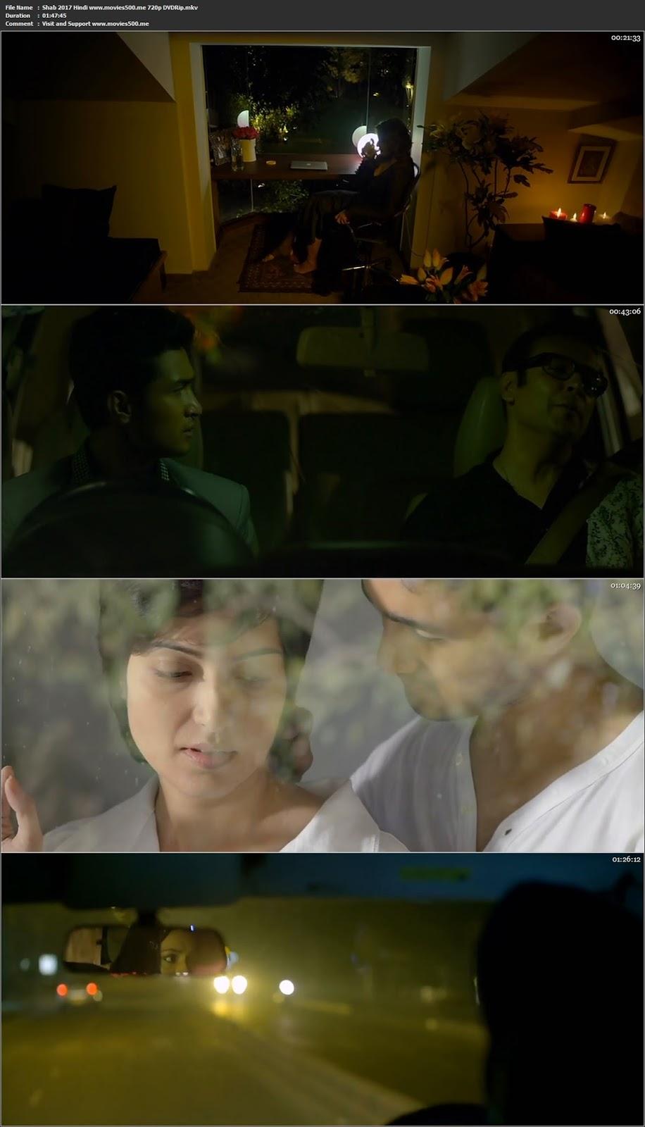 Shab 2017 Hindi Full Movie 800MB DVDRip 720p at movies500.me
