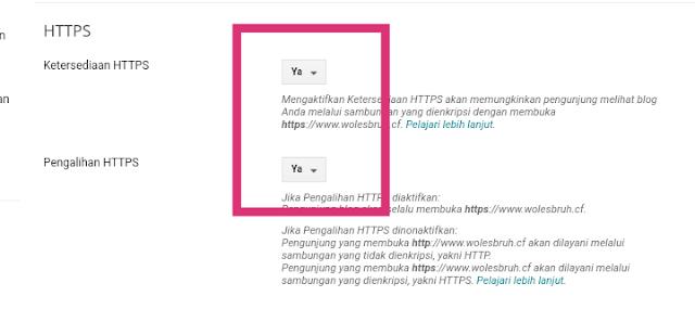 Memasang SSL di Blog Untuk Mengubah HTTP ke HTTPS Pada Domain Sendiri [Secure Connection]