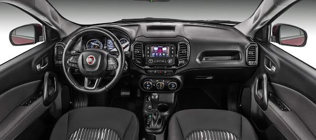 Nova Fiat Toro 2017 2.4 Flex Automática