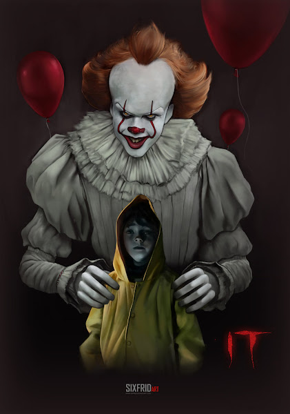 Poster of It 2017 Dual Audio [Hindi DD5.1-English] 720p BluRay ESubs Download