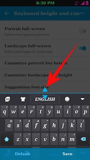 Mobile keyboard size change kaise kare 6