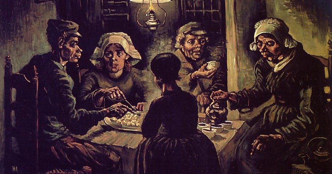 Atelier julainne os comedores de batata van gogh for Comedores de segunda