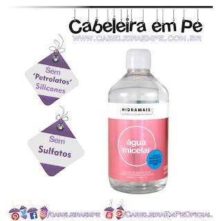 Água Micelar Solução De Limpeza Facial - Biocap (Sem Sulfatos, Sem Petrolatos e Sem Silicones)