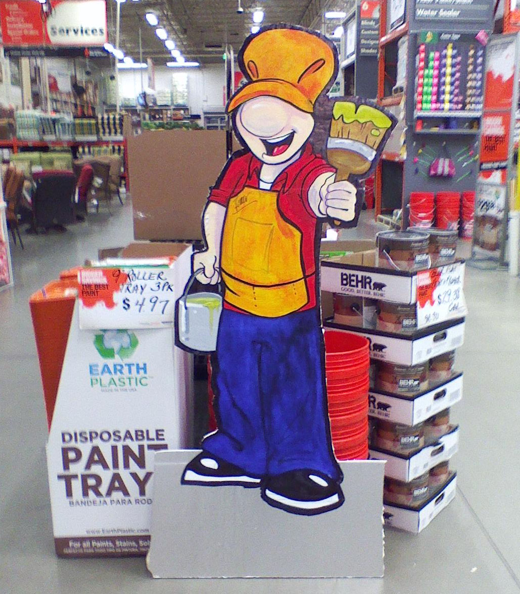 Feed.me.to.the.forest: Homer, Your Home Depot Paint Pal