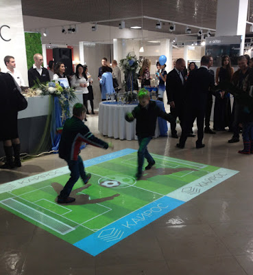 Interactive Floor Projection systems Technology, live floor