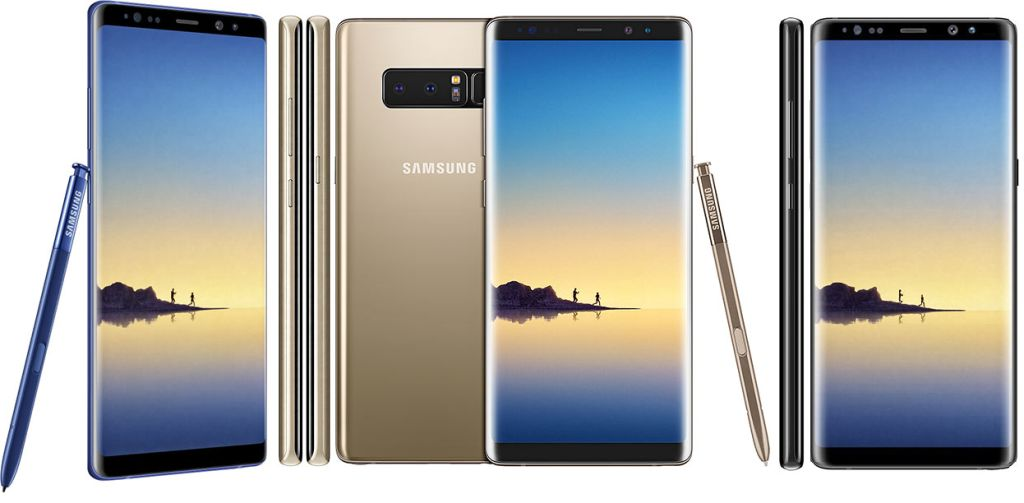 Samsung Galaxy Note8 (2017) SM-N950F with Specifications