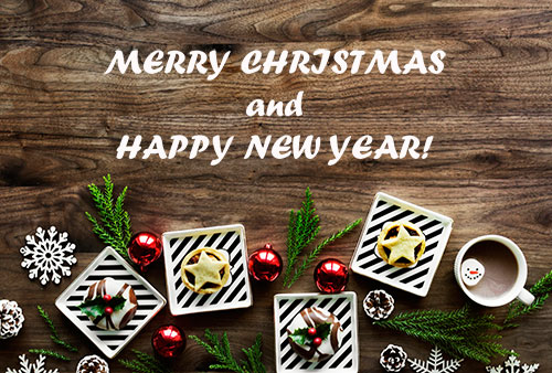 С Рождеством! и С Новым Годом!