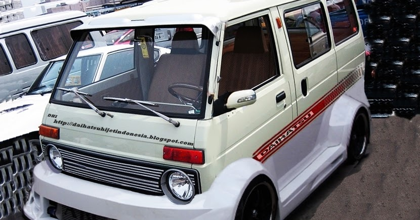 Daihatsu Hijet: Membayangkan Daihatsu Hijet Modif Wide Body