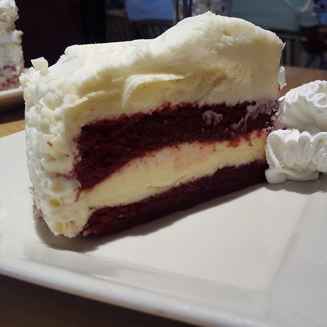 Red Velvet Cheesecake Cheesecake Factory