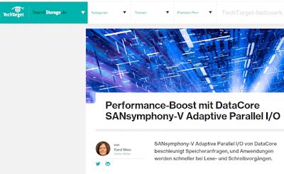 Performance Boost mit DataCore SANsymphony V Adaptive Parallel I/O
