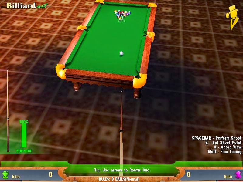 Game Billiard - Billiard Art For PC