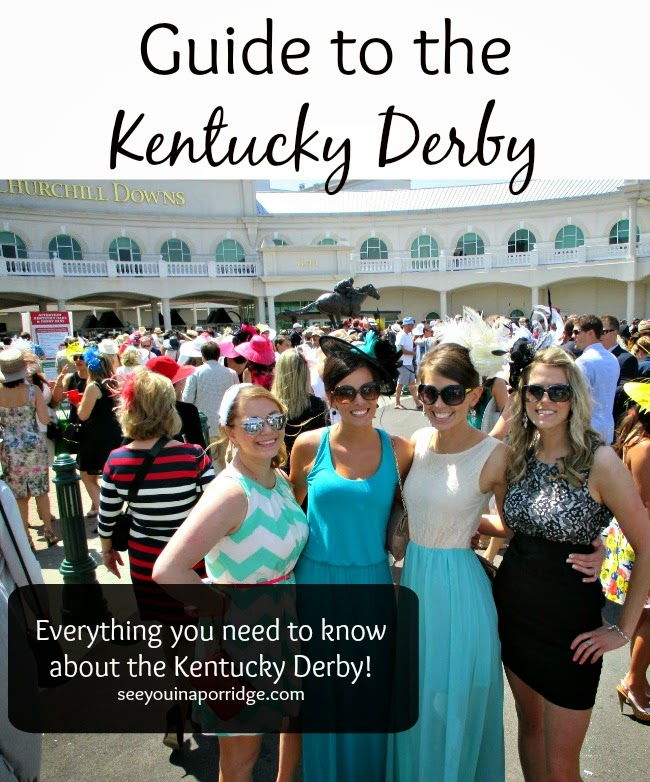 Guide to the KY Derby! Everything you need to know!