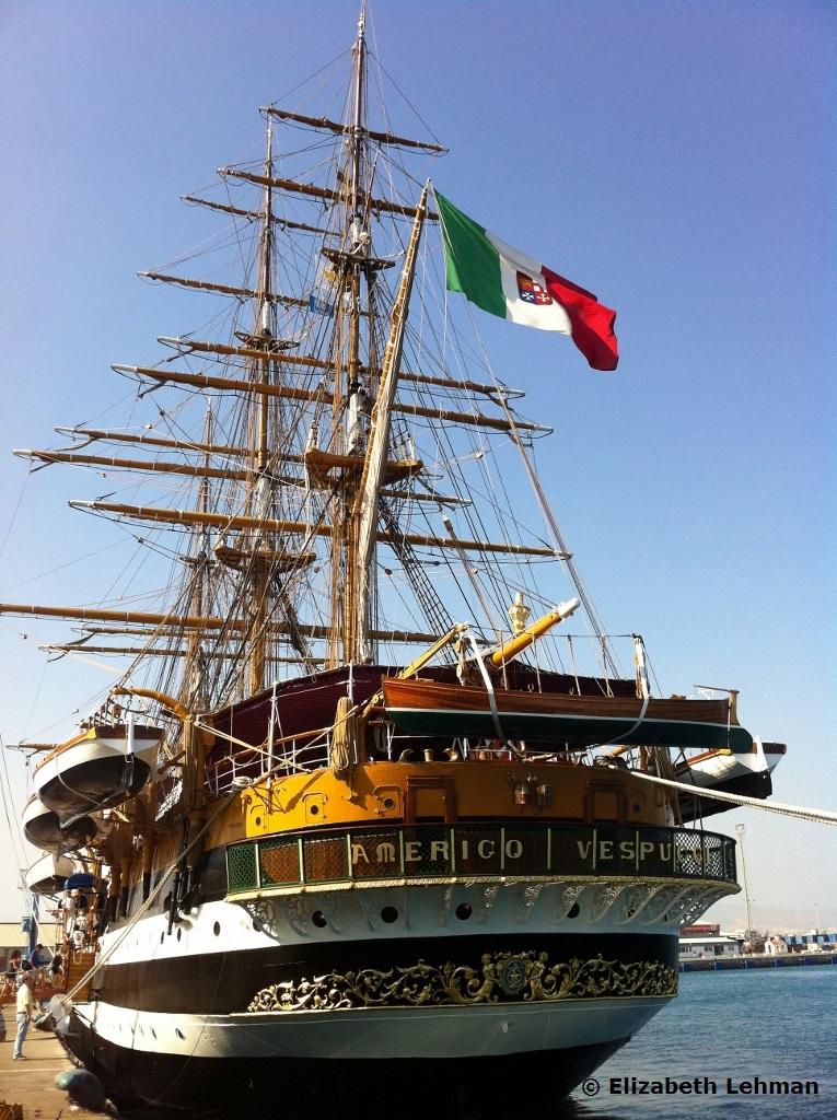 Exploring Cyprus: Amerigo Vespucci Ship