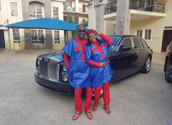 Apostle Suleman & His Wife Rock Matching Outfit