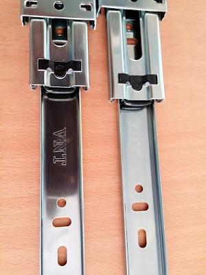 ray trượt bi 500mm Siquar