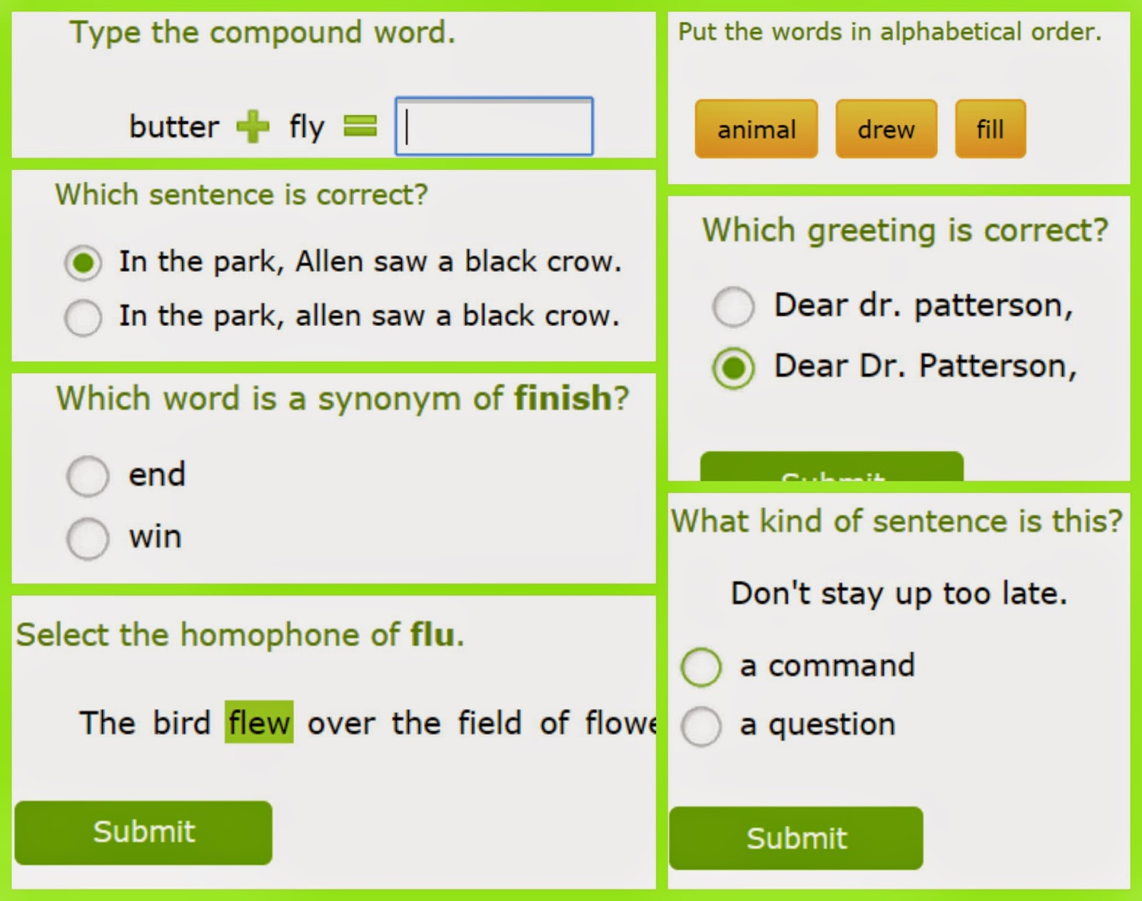 Mom's Heart: Math and Language Arts with IXL com