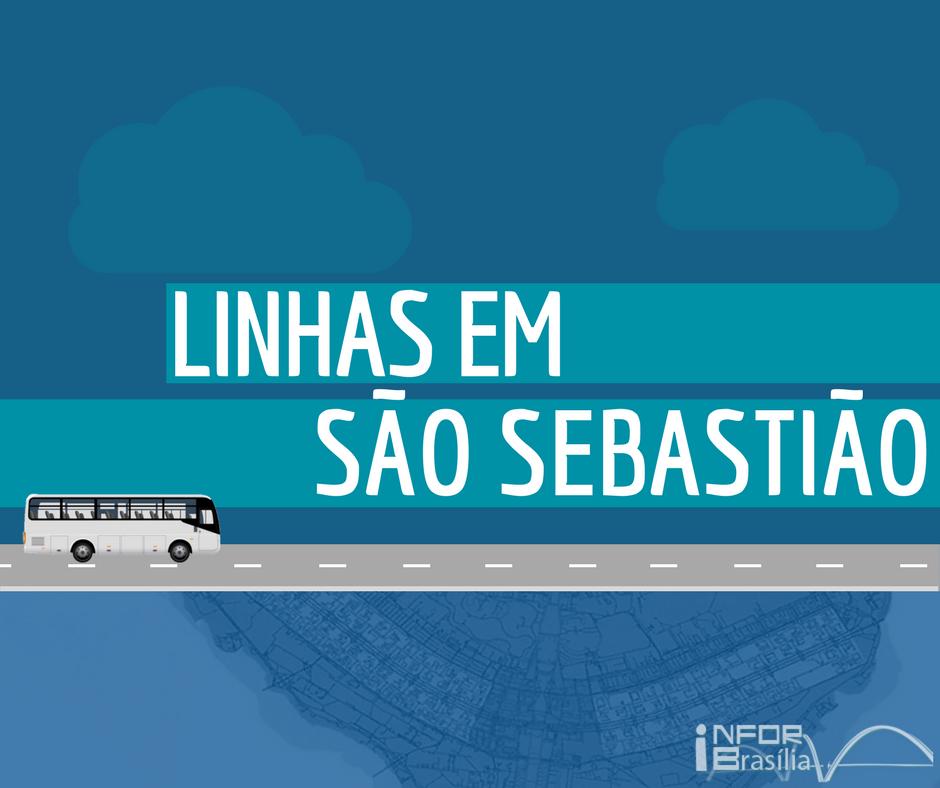 Horário de ônibus das linhas do São Sebastião