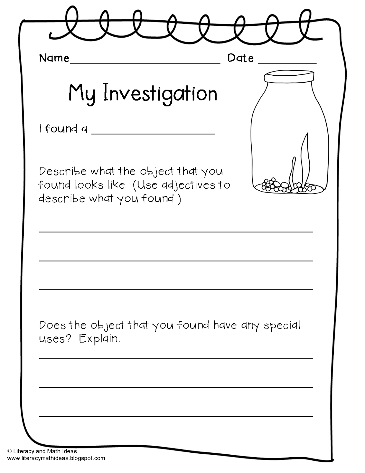 small resolution of Free Writing Activities For Grade 4