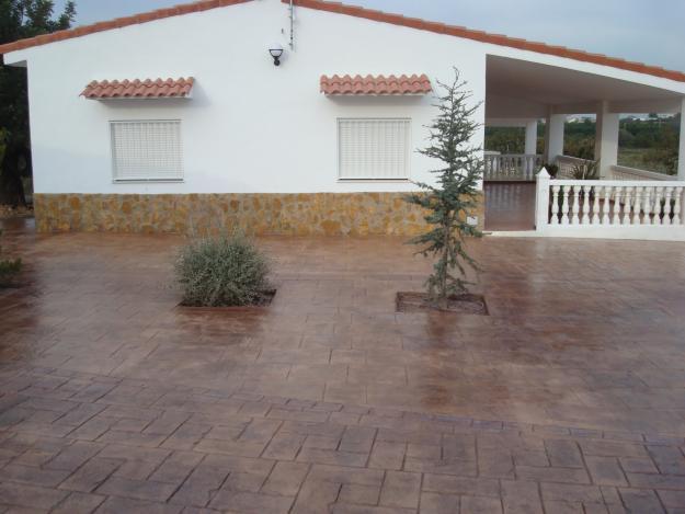 Hormigon impreso elche cemento impreso en elche - Hormigon pulido para exterior ...