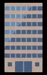 いろいろなビルのイラスト5