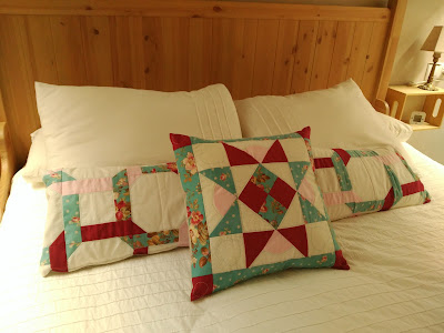 cojin patchwork, pillow, coussin, costura, couture, sewing