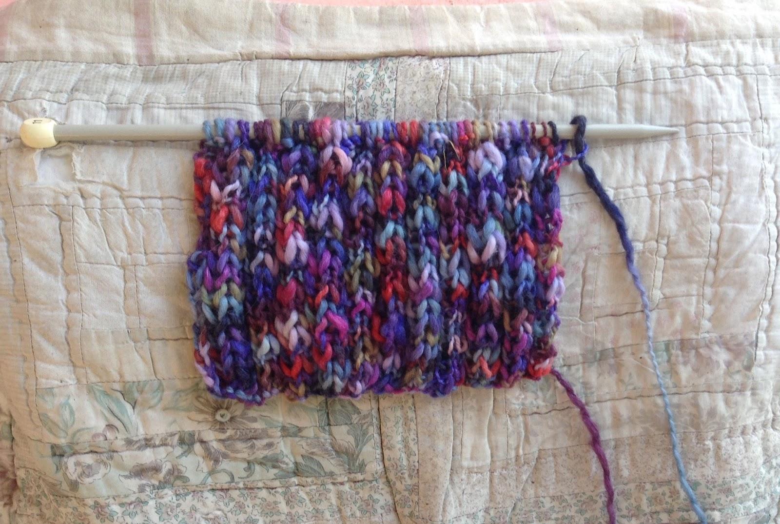 Theawakenedsoul Simple Ribbed Scarf Pattern
