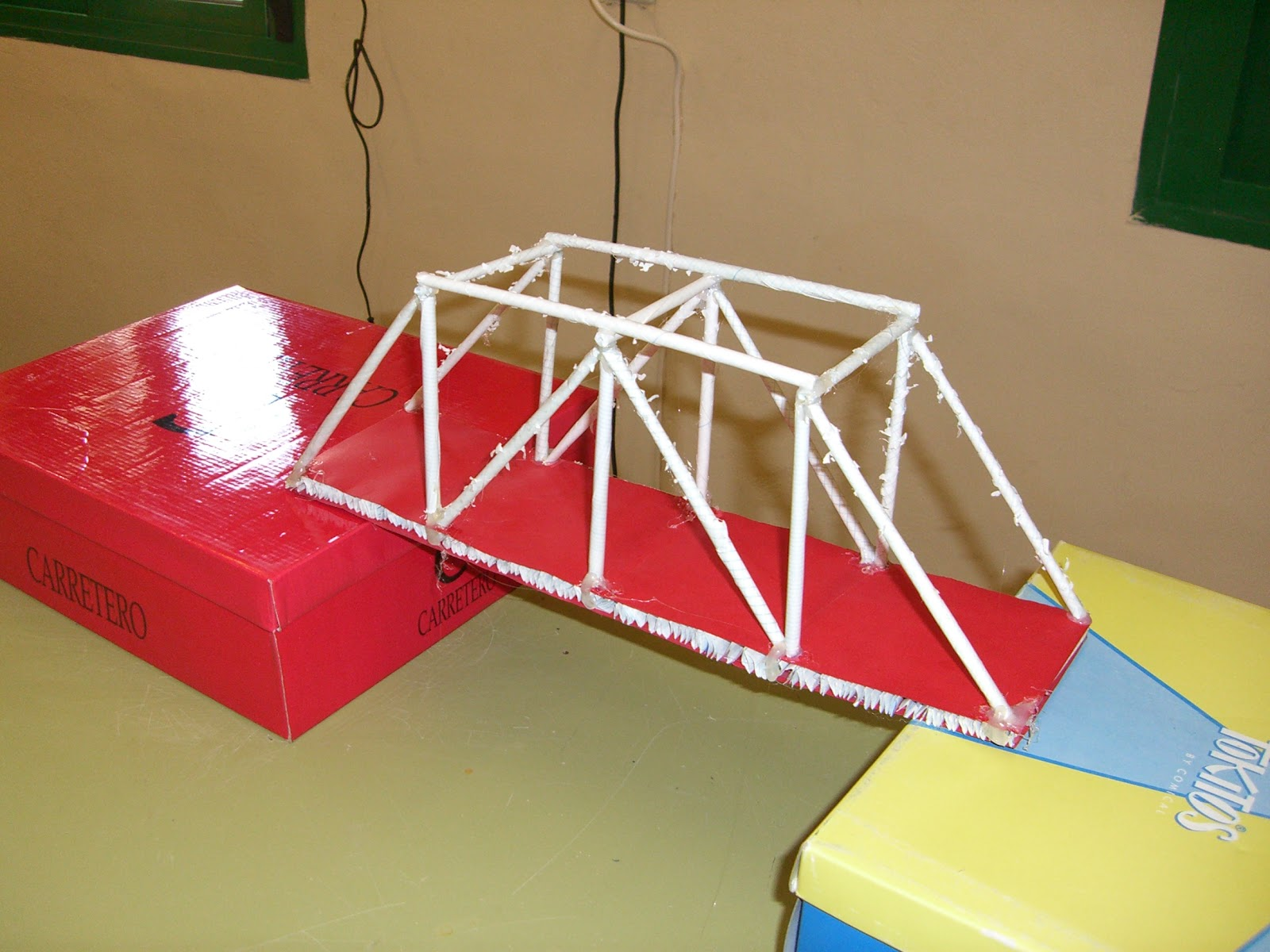 Tecnología escolar - E S O : PROYECTO: Puente de papel (II)