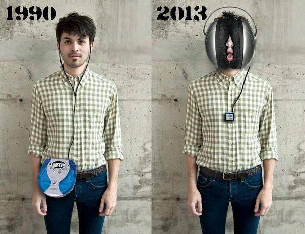 Playing Music Then vs Now