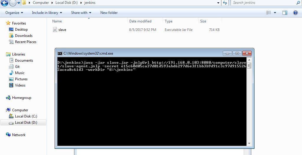 How to setup Jenkins slave machine - automation99