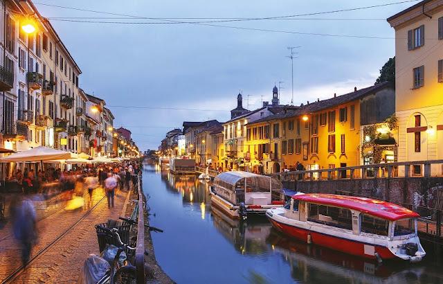 Ingressos para o cruzeiro pelo canal de Milão