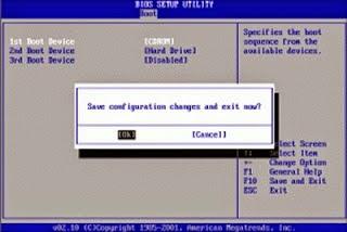 Cara Mengatur Bios Di Komputer Saat Akan Install Ulang Windows