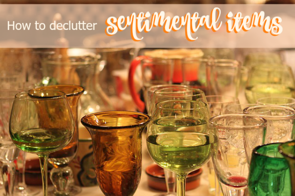 Beautifully Organised How To Declutter Sentimental Items