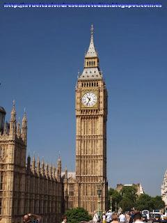 El Big Ben desde Westminster Bridge.