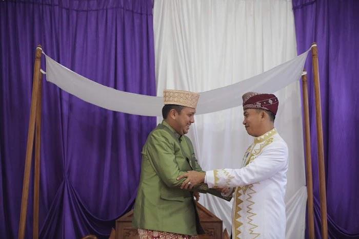 Ratu Melinting Angkat Gubernur Lampung Ridho Ficardo Sebagi Adik nya