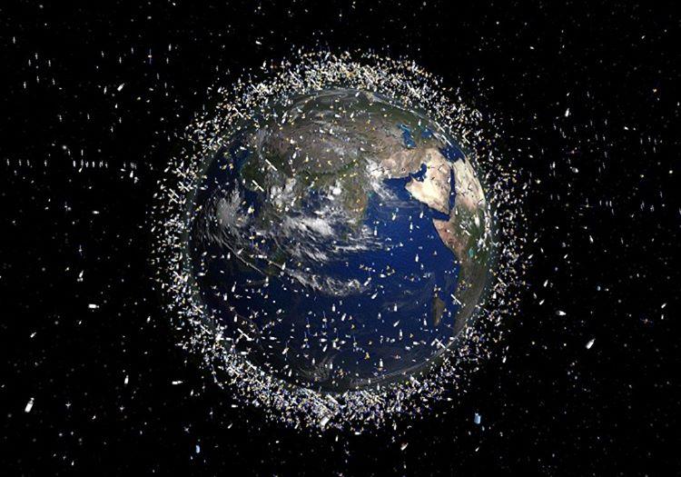 Böyle giderse dünyanın çevresinde koca bir uzay çöplüğü oluşacaktır.
