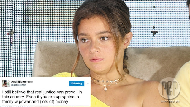 "Andi Eigenmann Slams Jake Ejercito on Twitter: ""I'd rather be a little nobody, than an evil somebody like you!"""